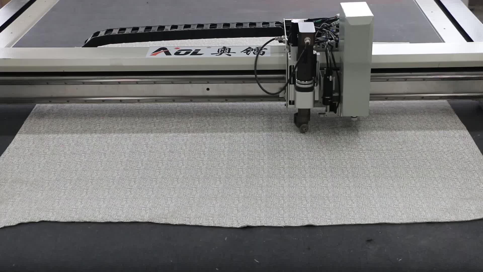 Automatische computerized kleding kledingstuk textiel cnc vibrerende ronde mes snijmachine in doek snijmachines