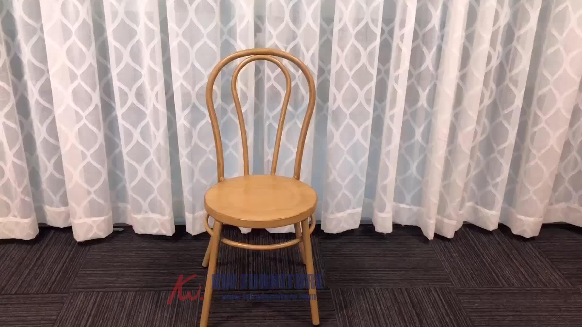 Moderno Restaurante Cadeiras Ao Ar Livre cadeira De Vime de Alumínio De Aço do Metal Ferro Cafe Bistro Pátio de Jantar Fast Food Usado Para Venda Por Atacado