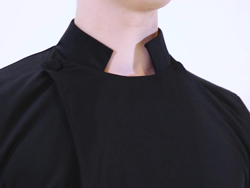 Matte Polyester Anglican Clergy Cassock Robe of Church Uniform