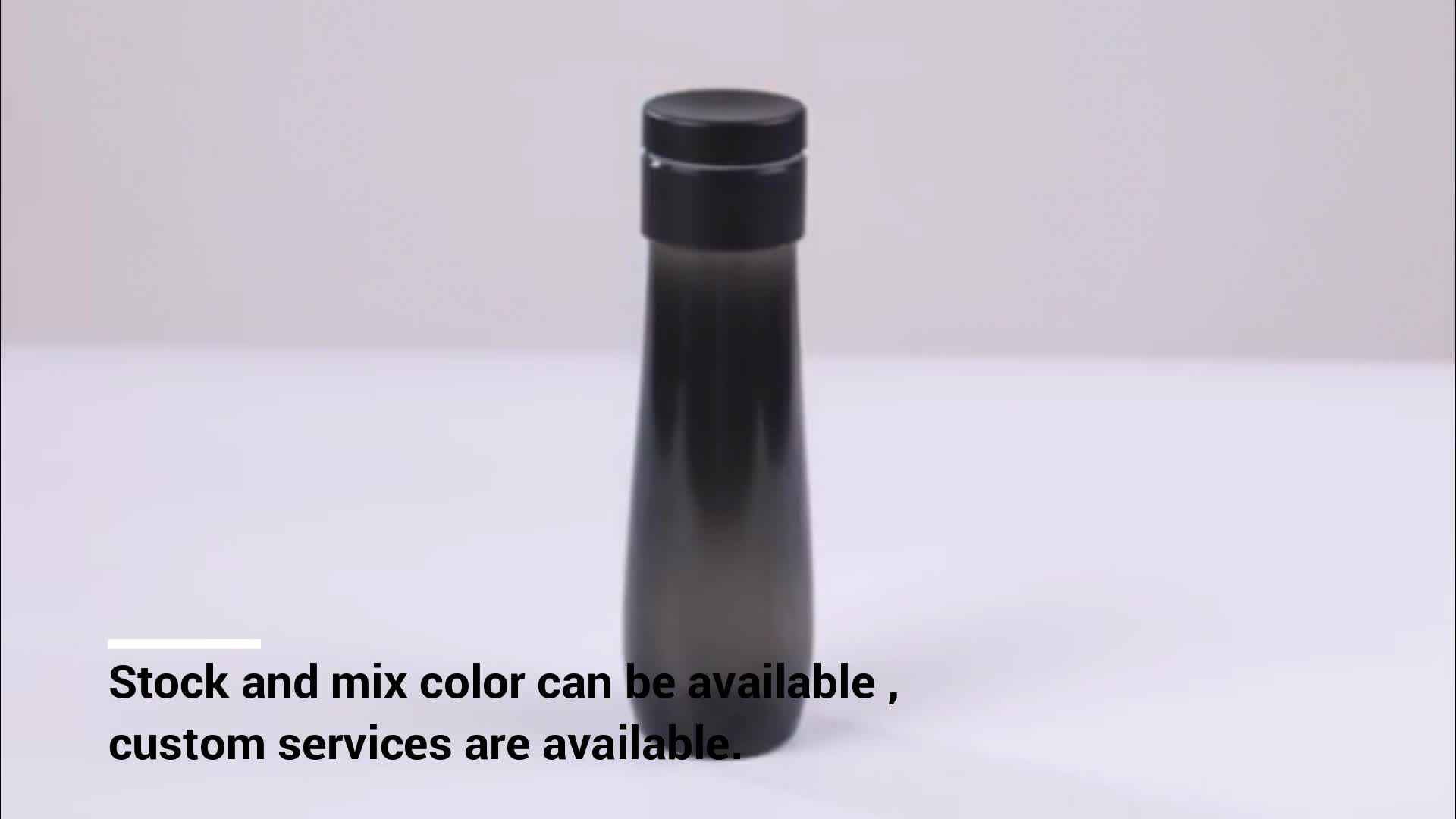 2019 New Water Bottles Drinkware Type and Plastic Sports Smart Water Bottle With Reminder
