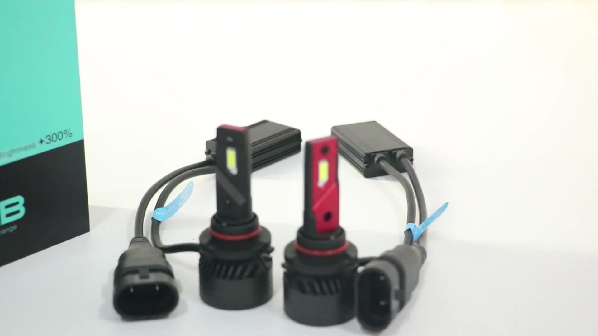 Công Suất Cao 45 W 10000LM F3 Led Đèn Pha H11 H4 Bóng Đèn 12 V LED