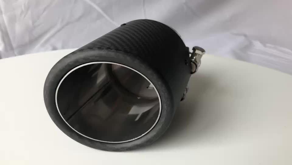 Efisien Harga Yang Kompetitif Serat Karbon Titanium Knalpot Muffler Pipa Akrapovic Knalpot Tips untuk Akrapovic Single