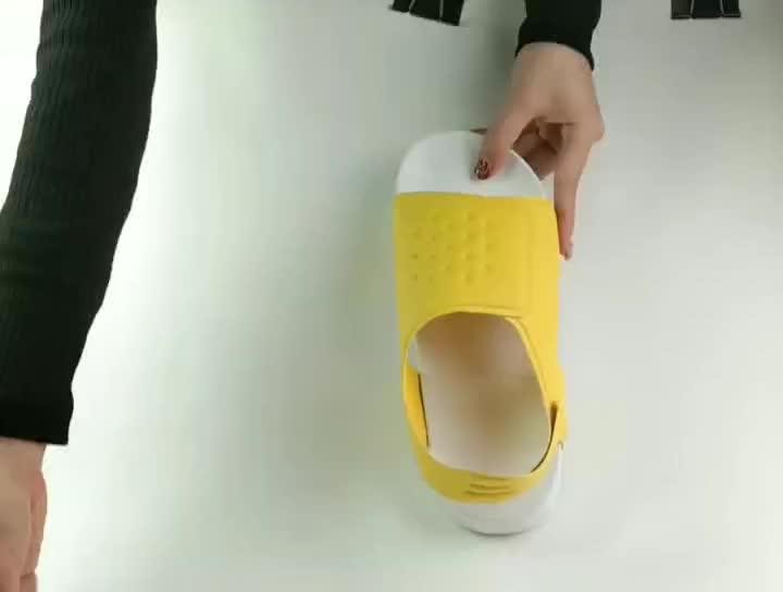 الصنادل اسم العلامة التجارية نعل هلام أحذية صندل 2019 اليدوية الأفريقية آلات كبيرة الحجم لصنع وأكياس مطابقة الفخار الأمازون