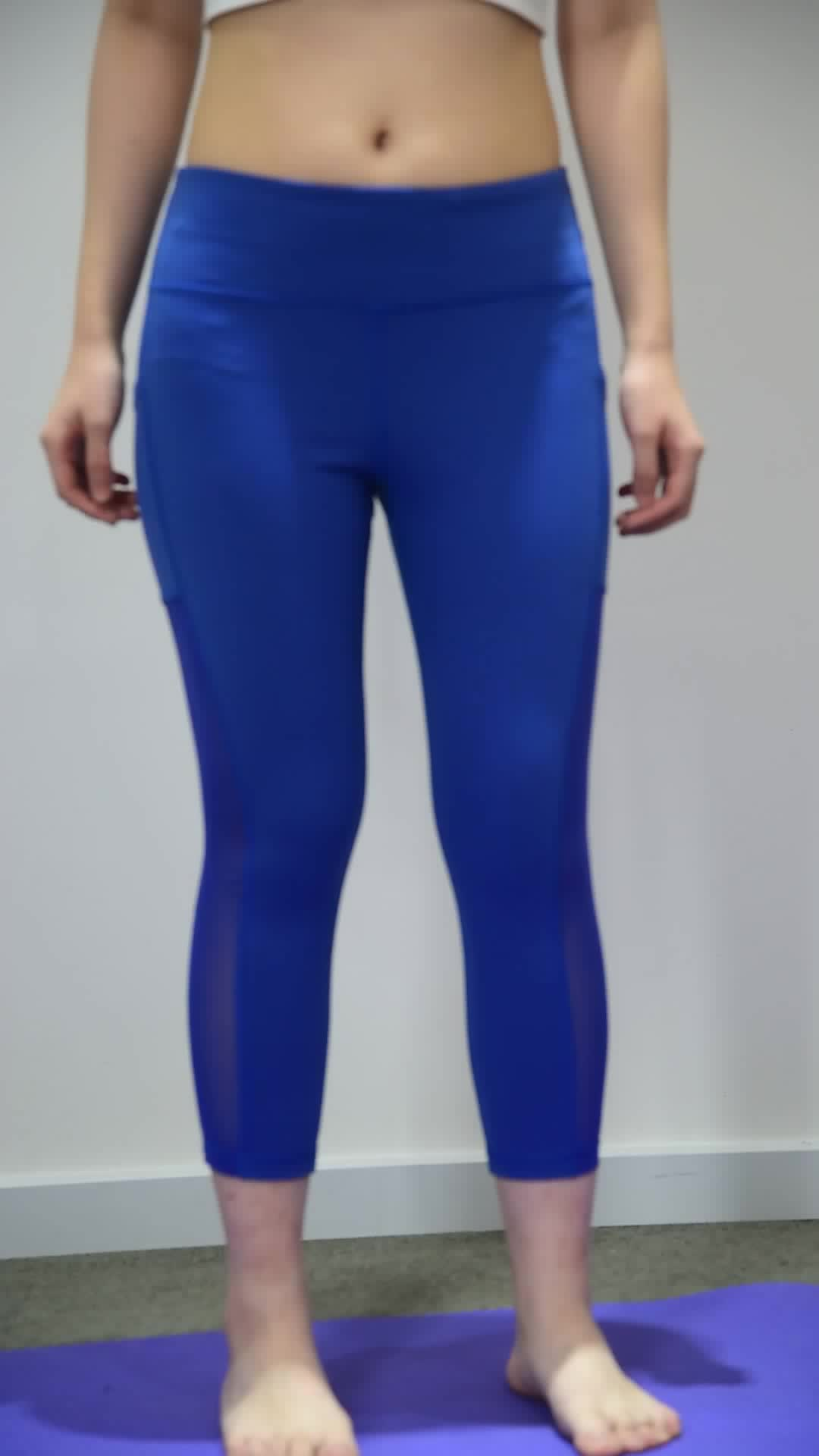 Hot Selling Fitness  Workout Activewear Sport High Waist Women Active Printing Tights Leggings