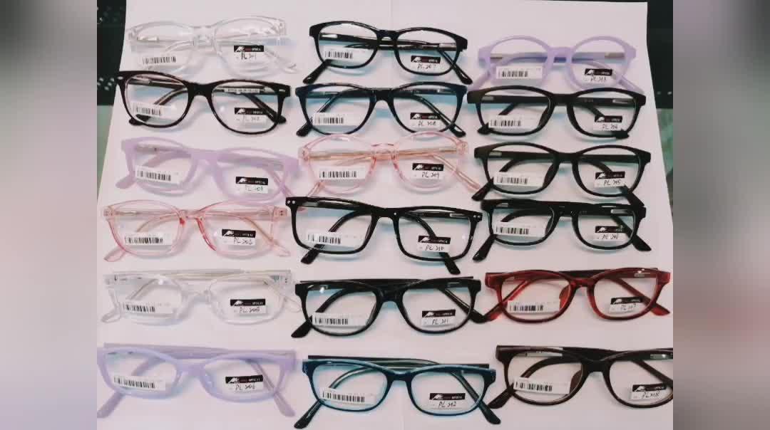 2019 CP China Wenzhou Eyeglasses Optical, Custom logo plastic optical frames glasses