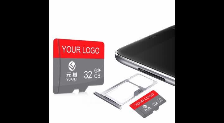 Factory Supply 100% Full Capacity 4GB 8GB 16GB 32GB 64GB 128GB 256GB SD TF Memory Card