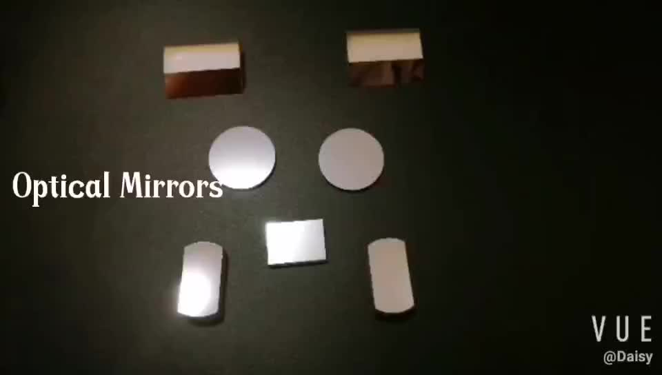 Optical Glass Plano Concave Mirror With  Protective AL coating
