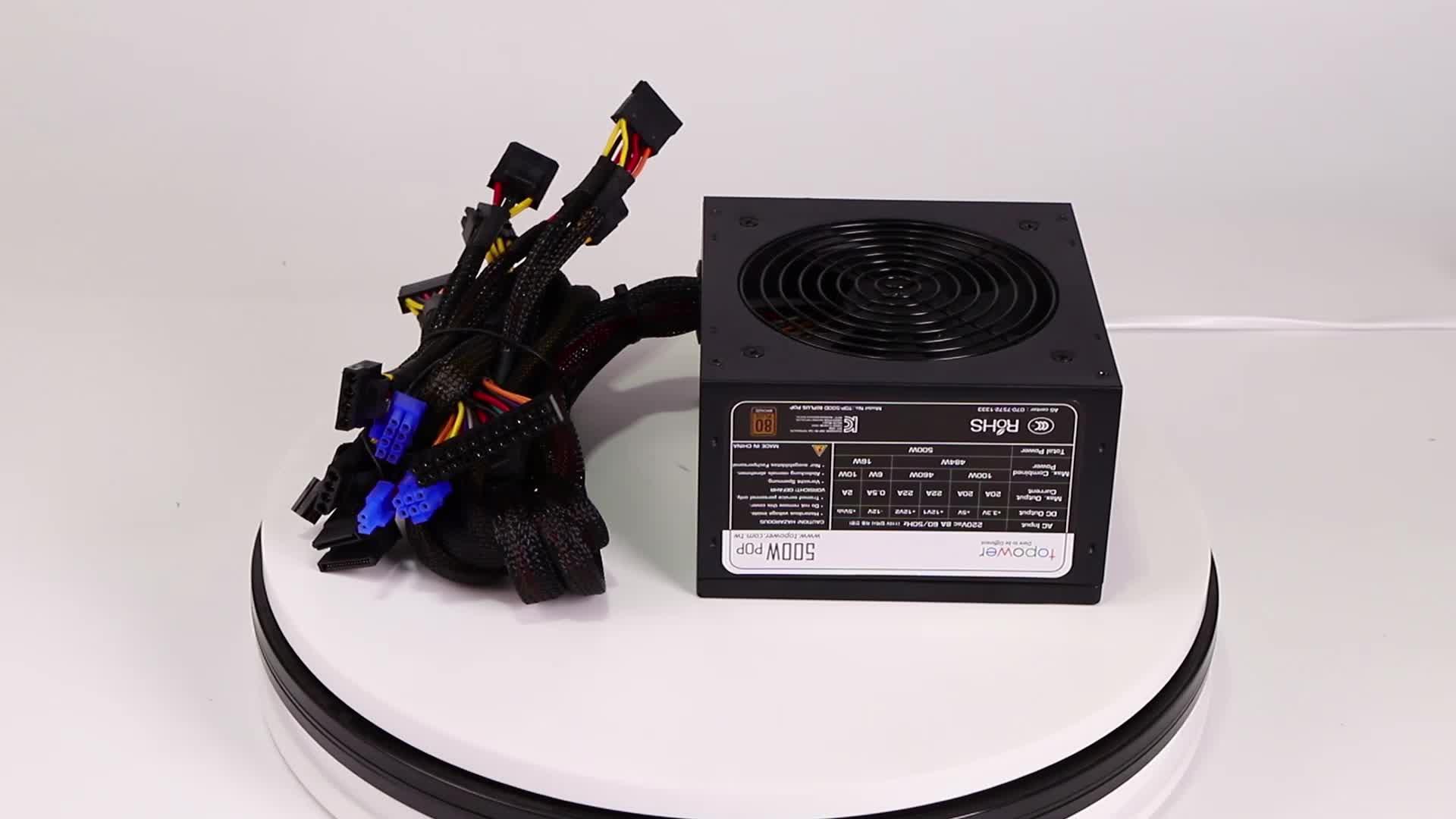 2020 güç kaynağı 12V ile 24Pin 400W 500W 600W 700W PSU Pc için kılıf oyun