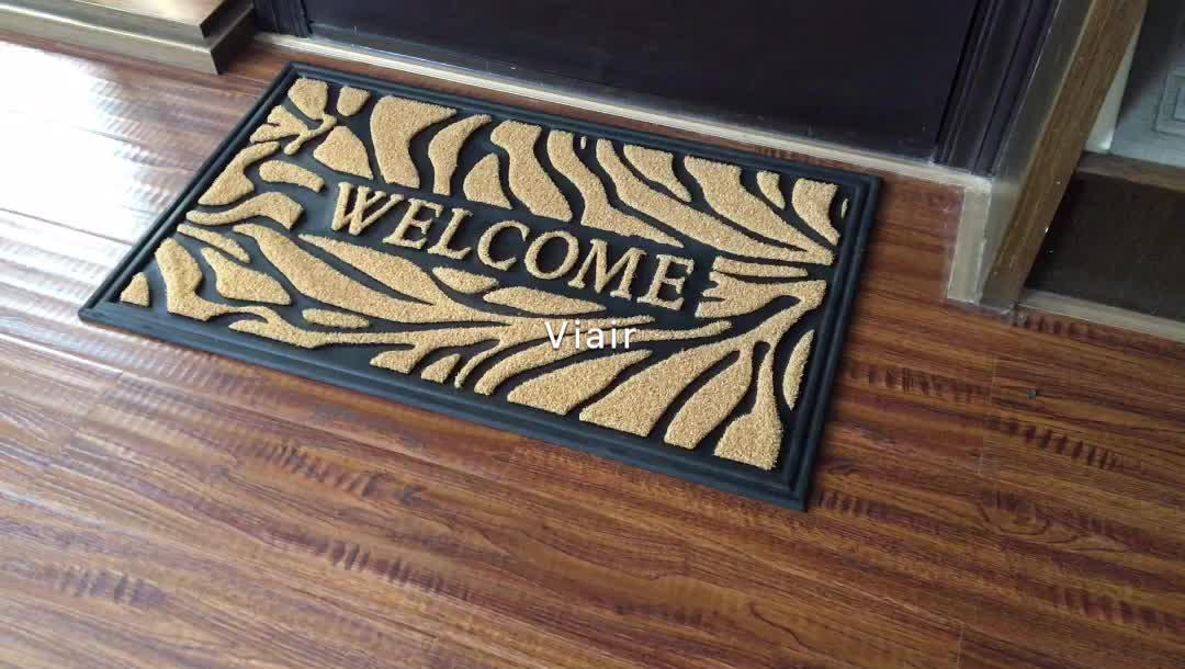 Voordeur Mat Premium Entree Welkom Mat Stevig, Duurzaam Biologisch Afbreekbaar Indoor/Outdoor mat welkom mat