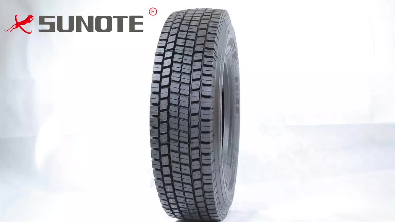 SUNOTE radial  truck tires 295/80r22.5 front truck tyre