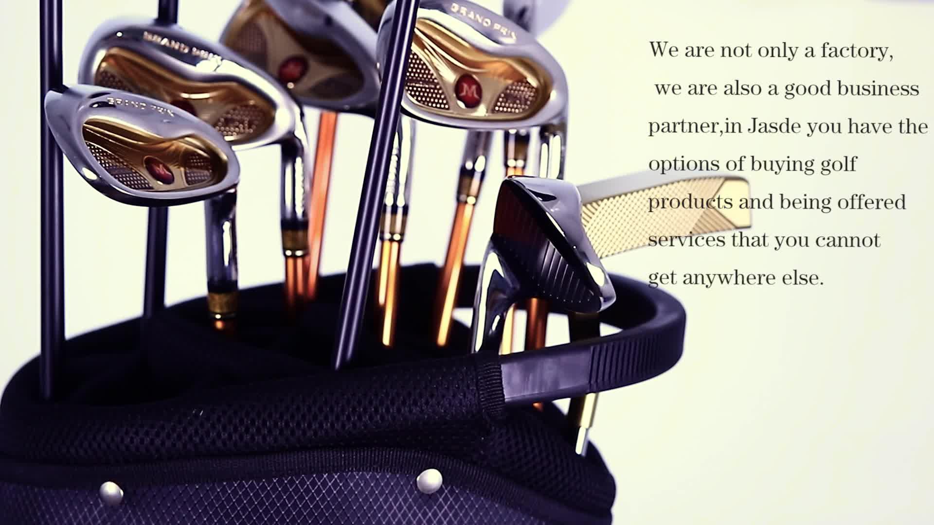 OEM personalizzata di marca di lusso pieno di golf set completo di club