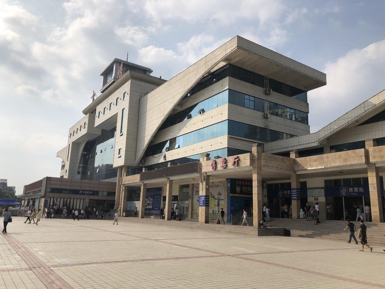 十堰站站前广场
