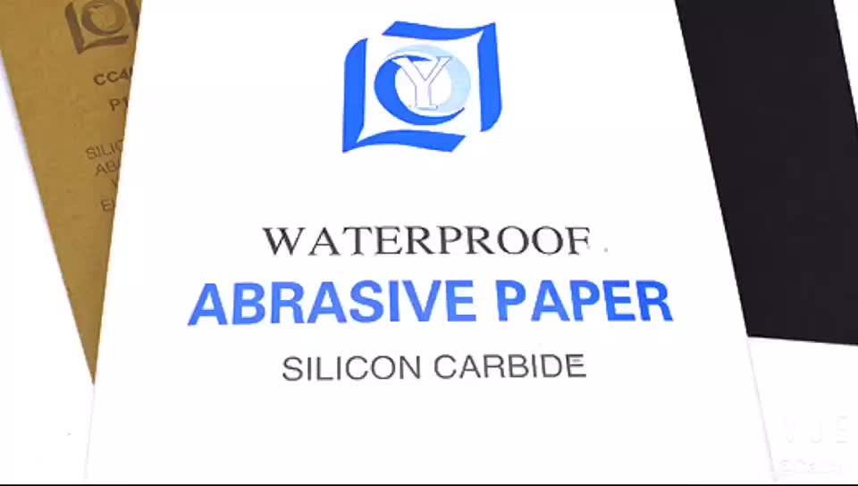 9 ''* 11'' 600grit polieren schleifpapier wasserdicht für metall, holz