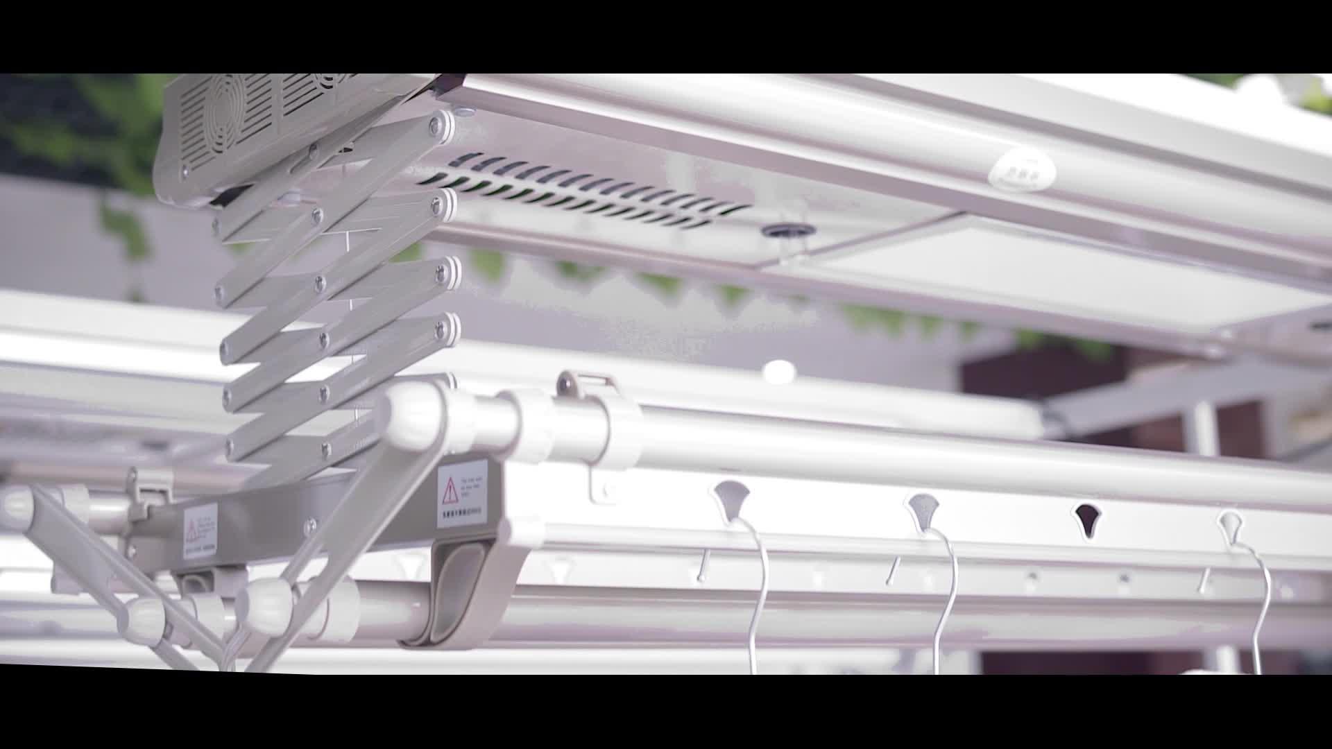 Coffre-Fort intelligent Automatique Porte-cintres Avec LED Lumières