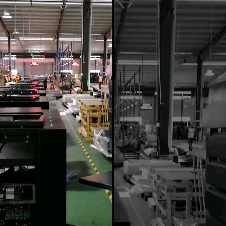 Factory Price VSD 45KW 265 cfm/min invert screw air compressor