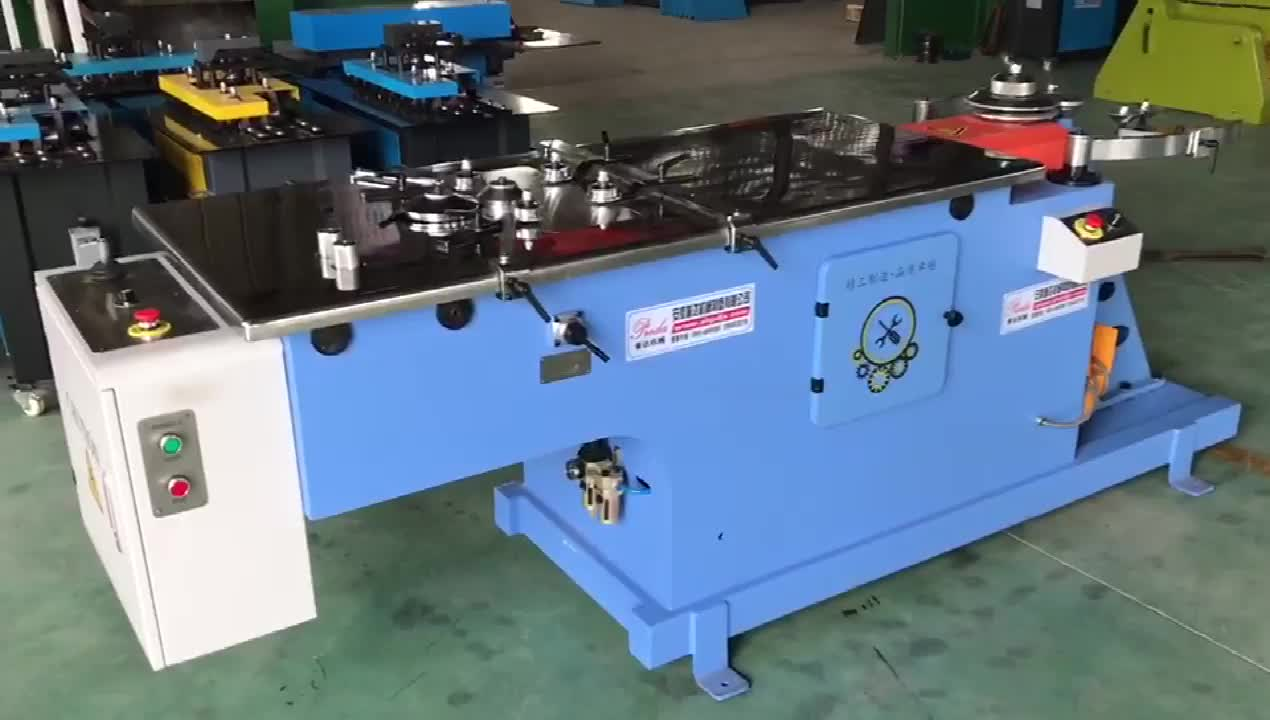 Preda manufactured hydraulic elbow machine for stainless steel production