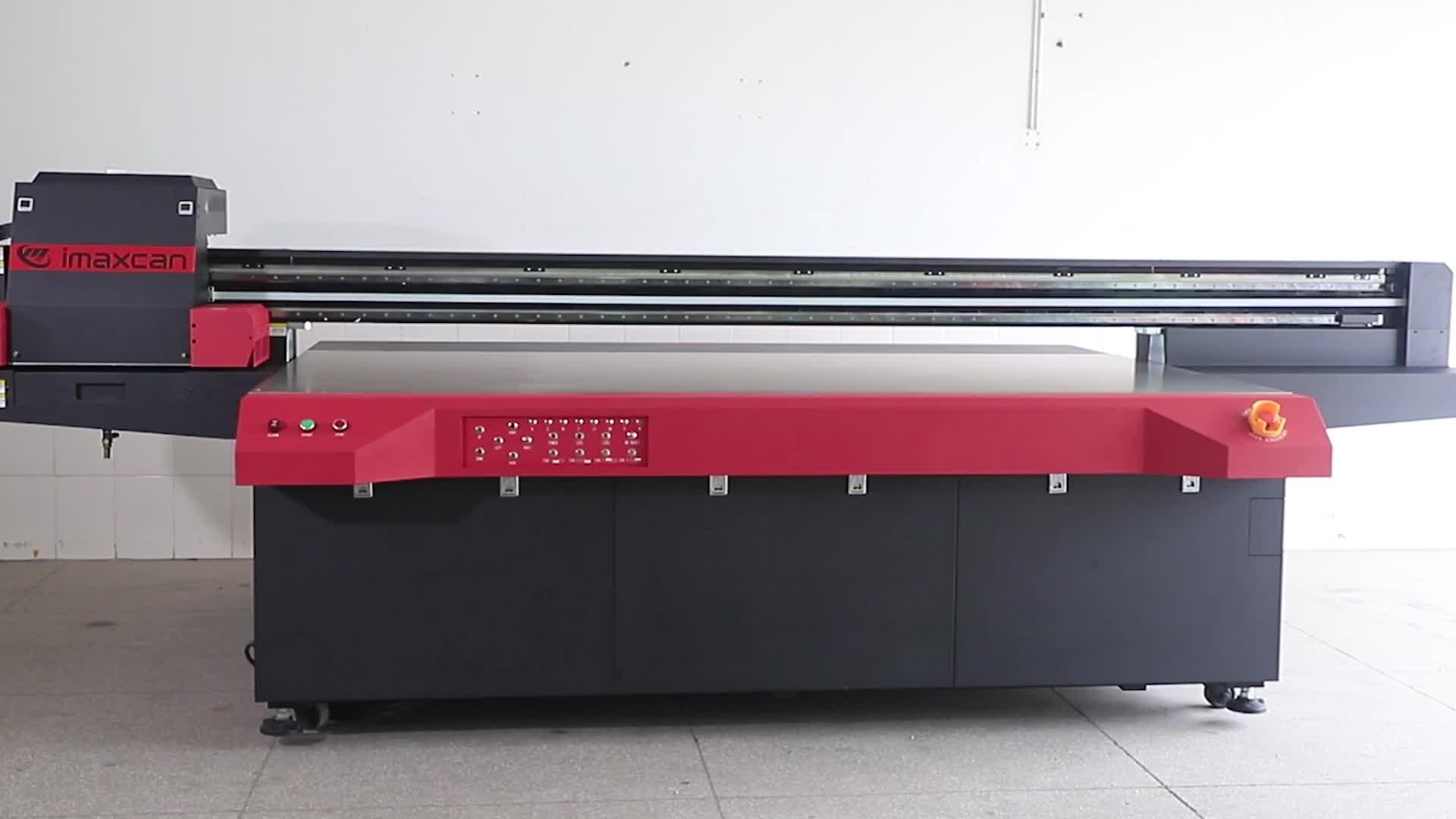 Grootformaat Multi functionele Digitale UV Flatbed Printer Lichtbak UV Printer