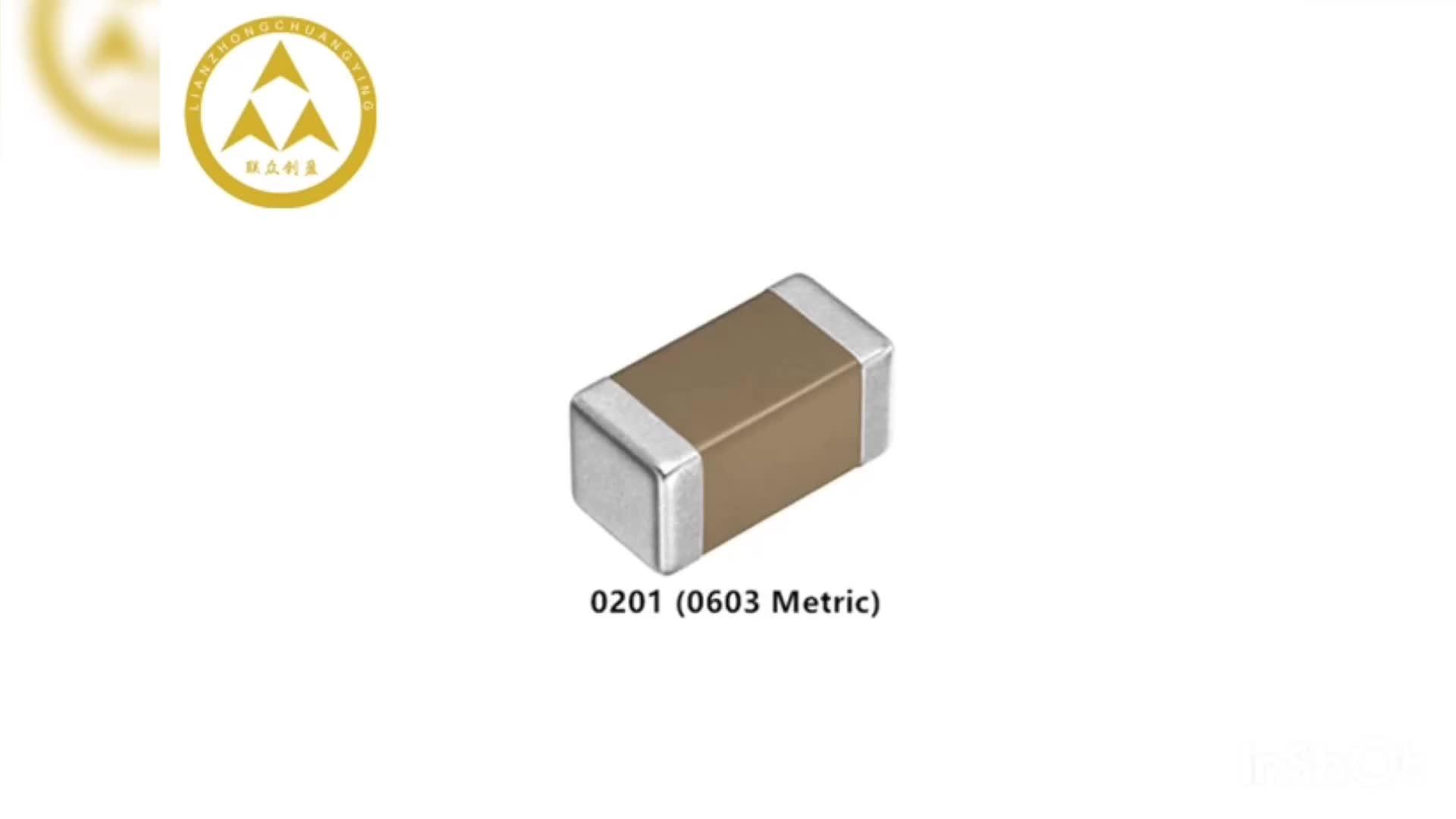 (เซรามิก) ตัวเก็บประจุชิป 1uF 105K 50V X7R 10% 1206 MLCC CL31B105KBHNNNE SMD Capacitor