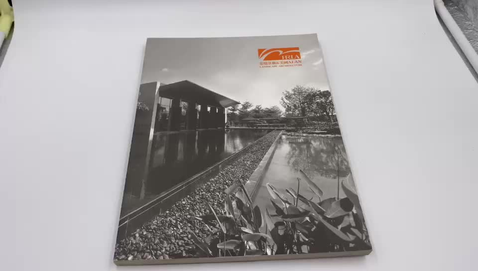 Professional Custom High Quality Catalogue & Book Printing Services in China