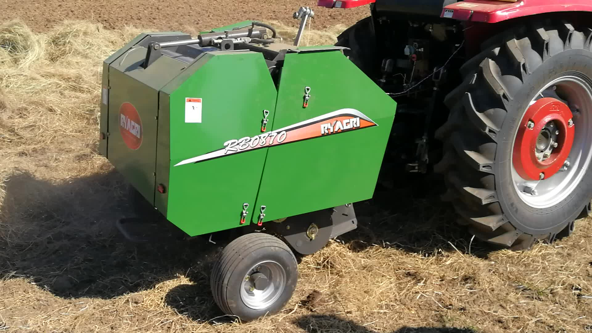 RB0870 cheap round hay baler for tractor