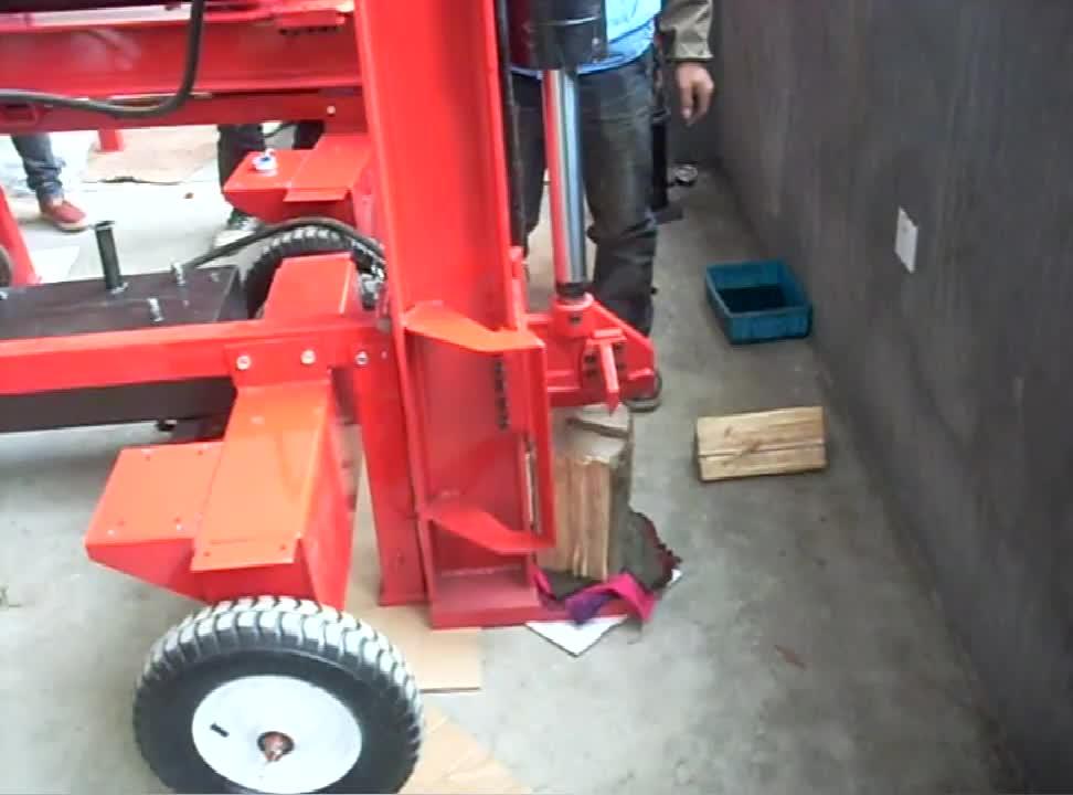 34Ton gasoline log splitter or home use 4 stroke wood splitter or 7hp petrol log splitter machine