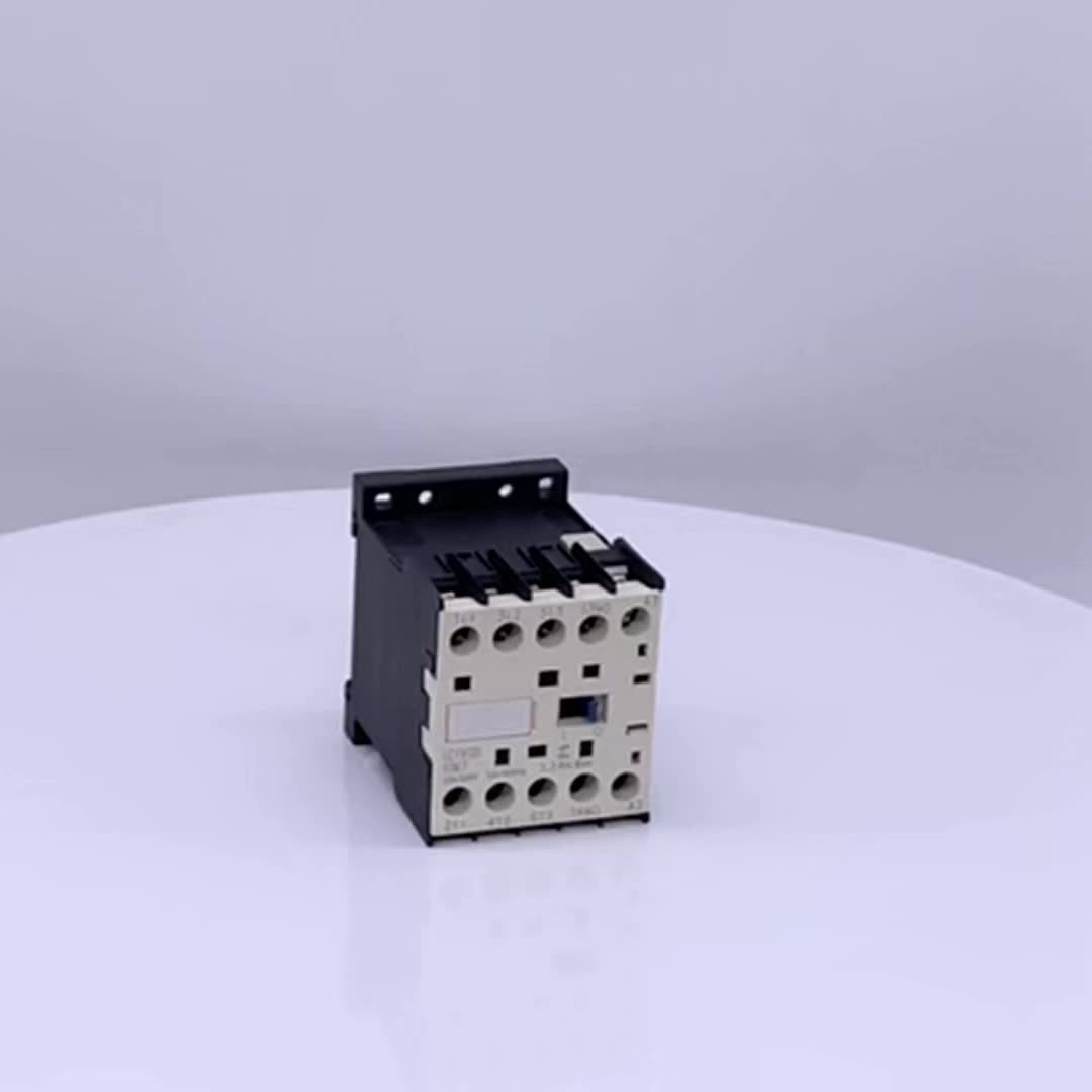 High quality 85% silver contacts new type LP1-K dc magnetic contactor