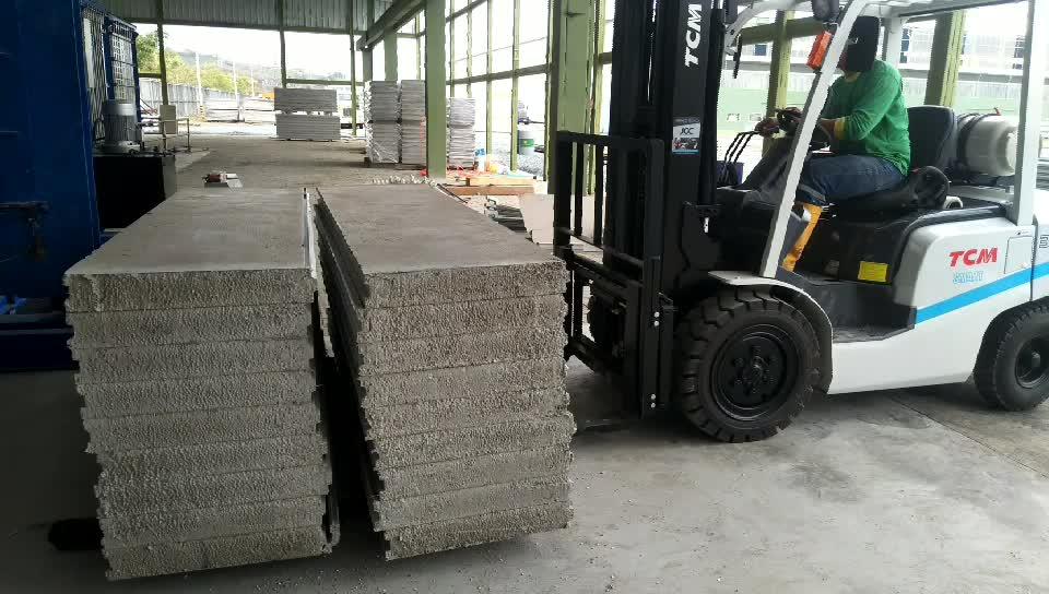 Легкий раздел строительный материал соединение стены машины
