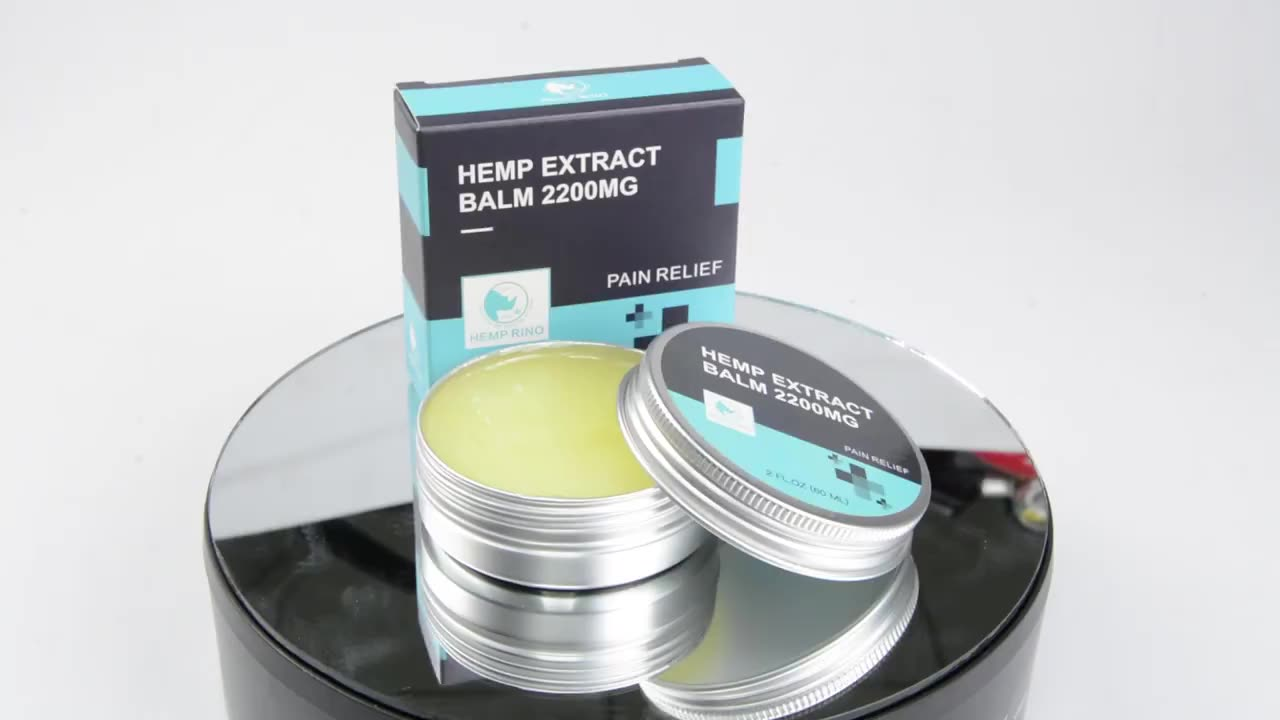 Pure Hemp Extract CBD Balm For Pain Relief