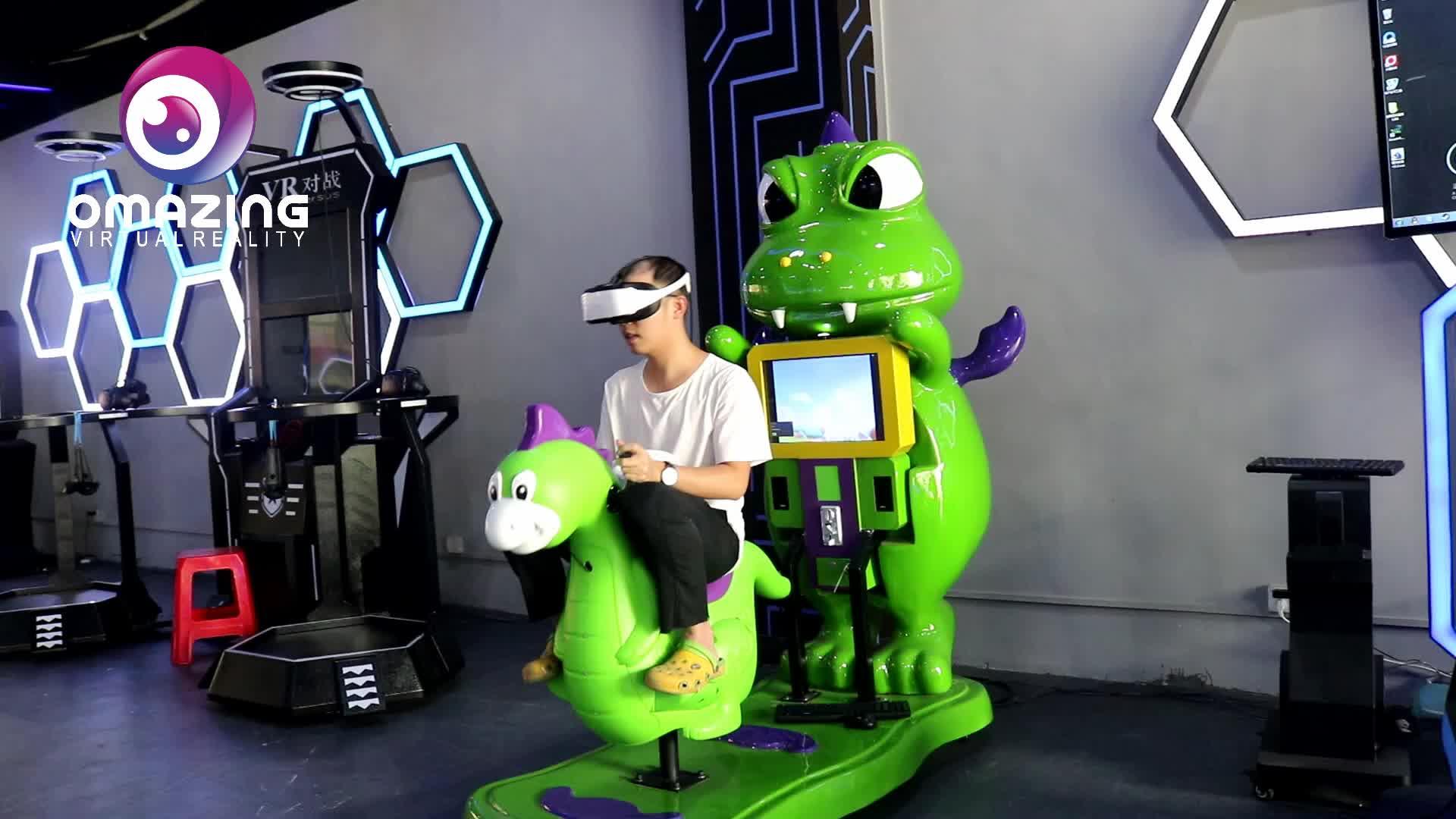 Afreshtech ילדים vr סימולטור ילדי 9d Vr משחק מכונת VR כבשים לרוץ