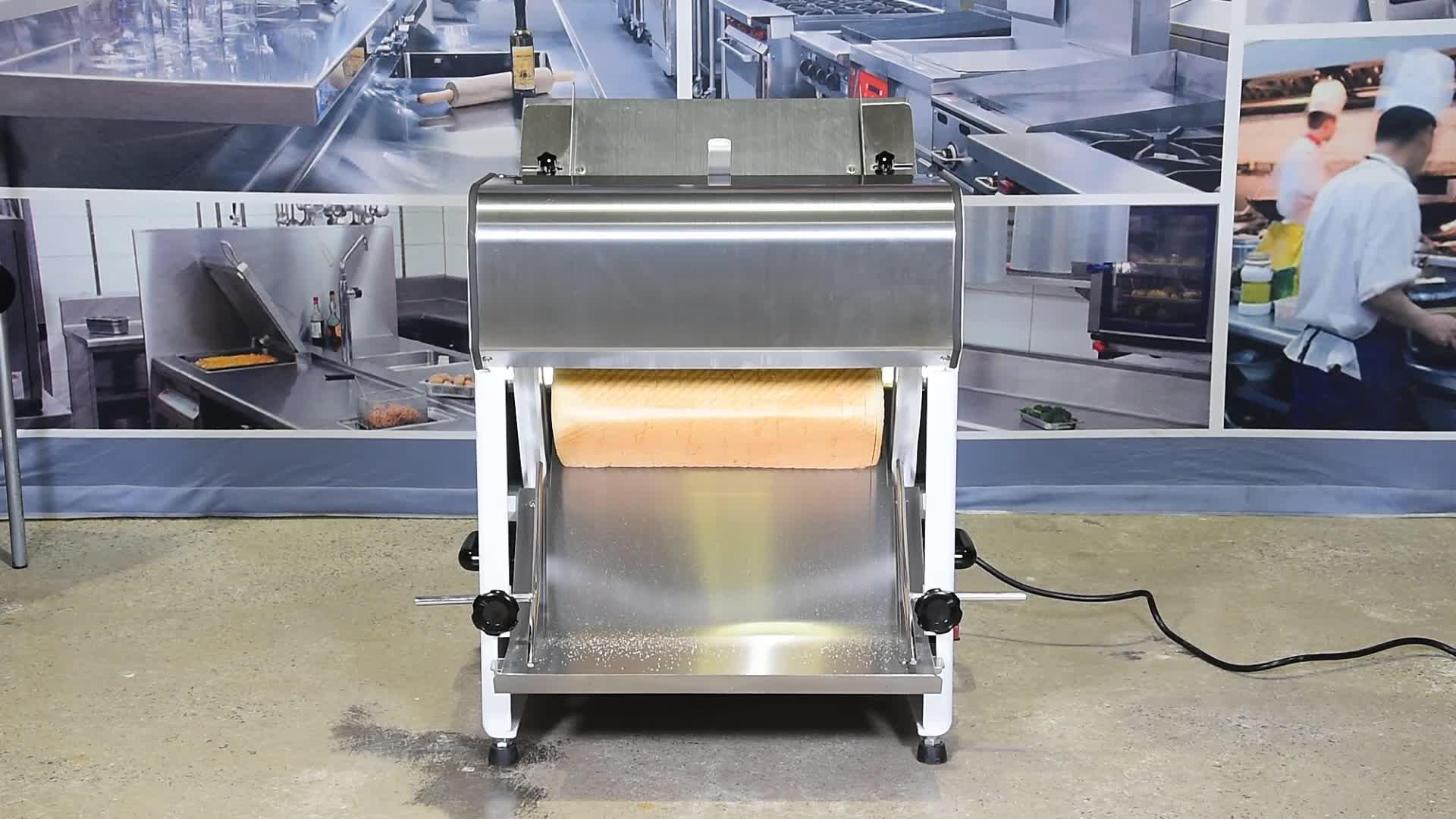 Linkrich CG-39D Bakkerij Apparatuur-Toast Brood Slicer-39pcs, Commerciële Brood Slicer voor Verkoop