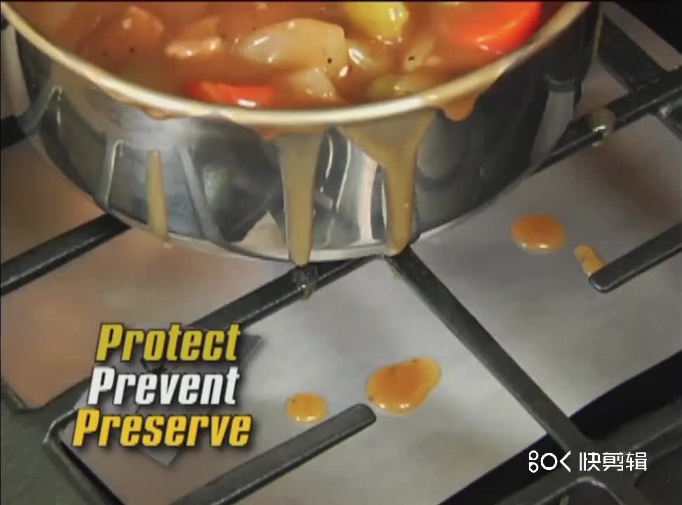 Factory price easy to clean gas range and stove hob top protectors covers mat