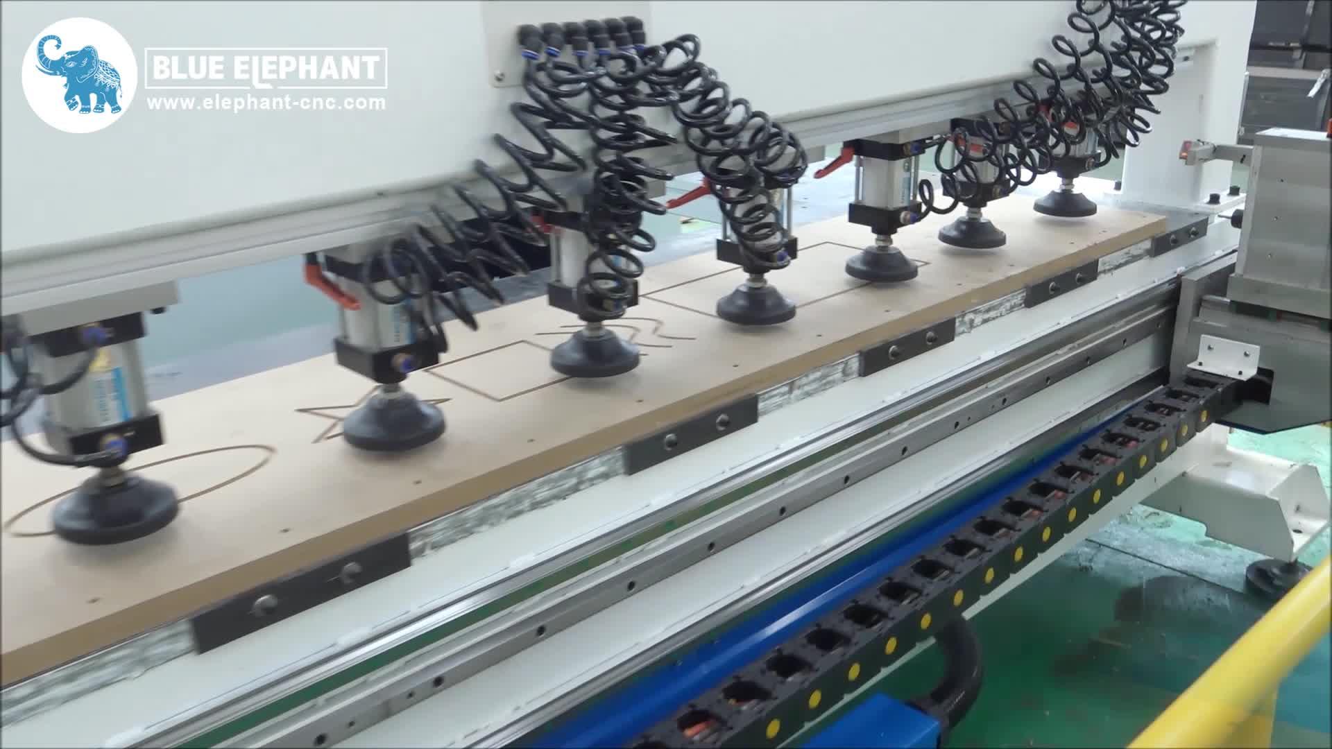 तेज गति के साथ आर्थिक सीएनसी woodworking फर्नीचर लकड़ी ड्रिलिंग मशीन