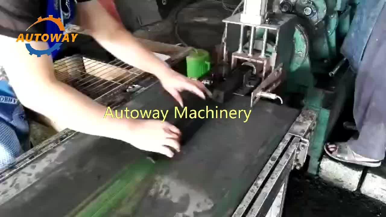 Latest design and high quality sawdust briquette charcoal maker screw extruder briquette biomass wood briquette making machine