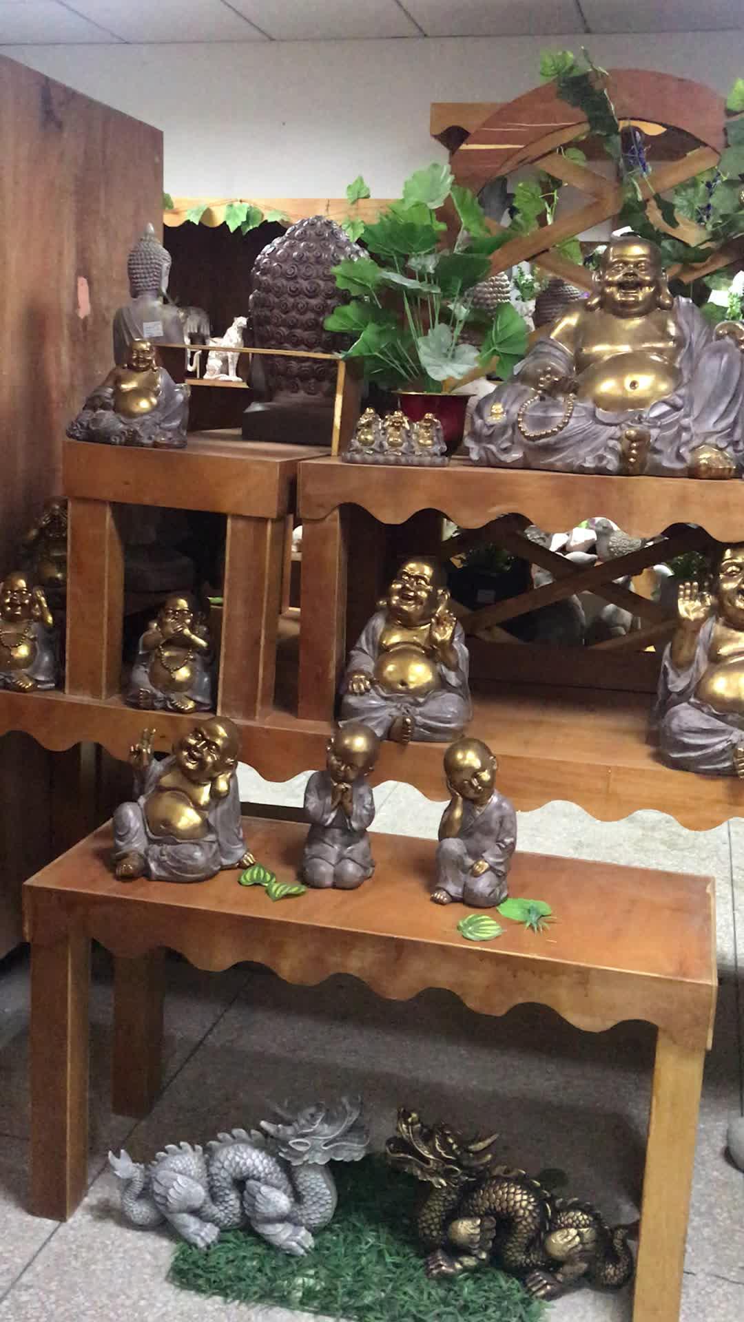 Wholesale customized stone religious buddhism statuesdecor resin buddha statues