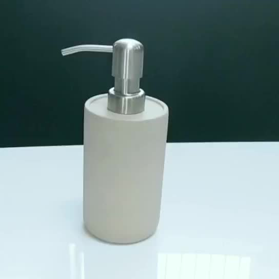 Wholesale Customized Resin Soap Dispenser / Shenzhen Factory