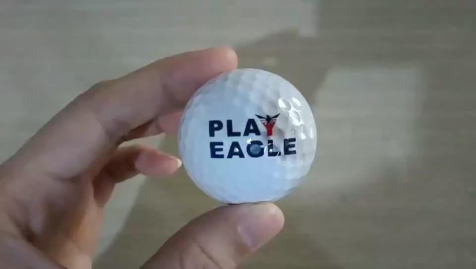 Factory Custom golf ball 2 piece/ 3 piece  golf ball custom logo Wholesale Practice Golf Ball