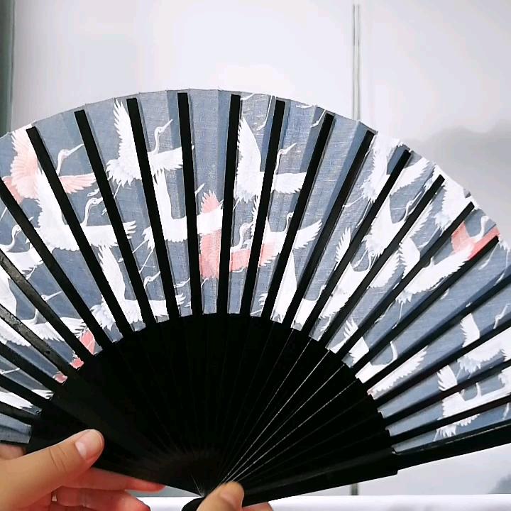 Customise spanish folding wood hand fan for gift