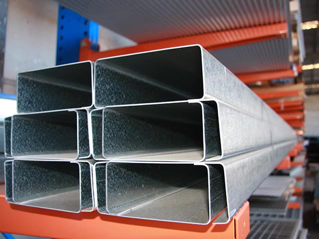 Hot dip galvanized c channel steel cold formed c channel steel section sizes