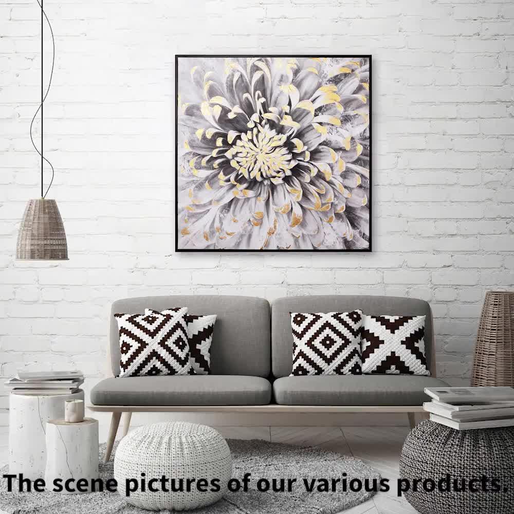 100% chất lượng tóm tắt tường nghệ thuật vẽ tranh trên vải để bán