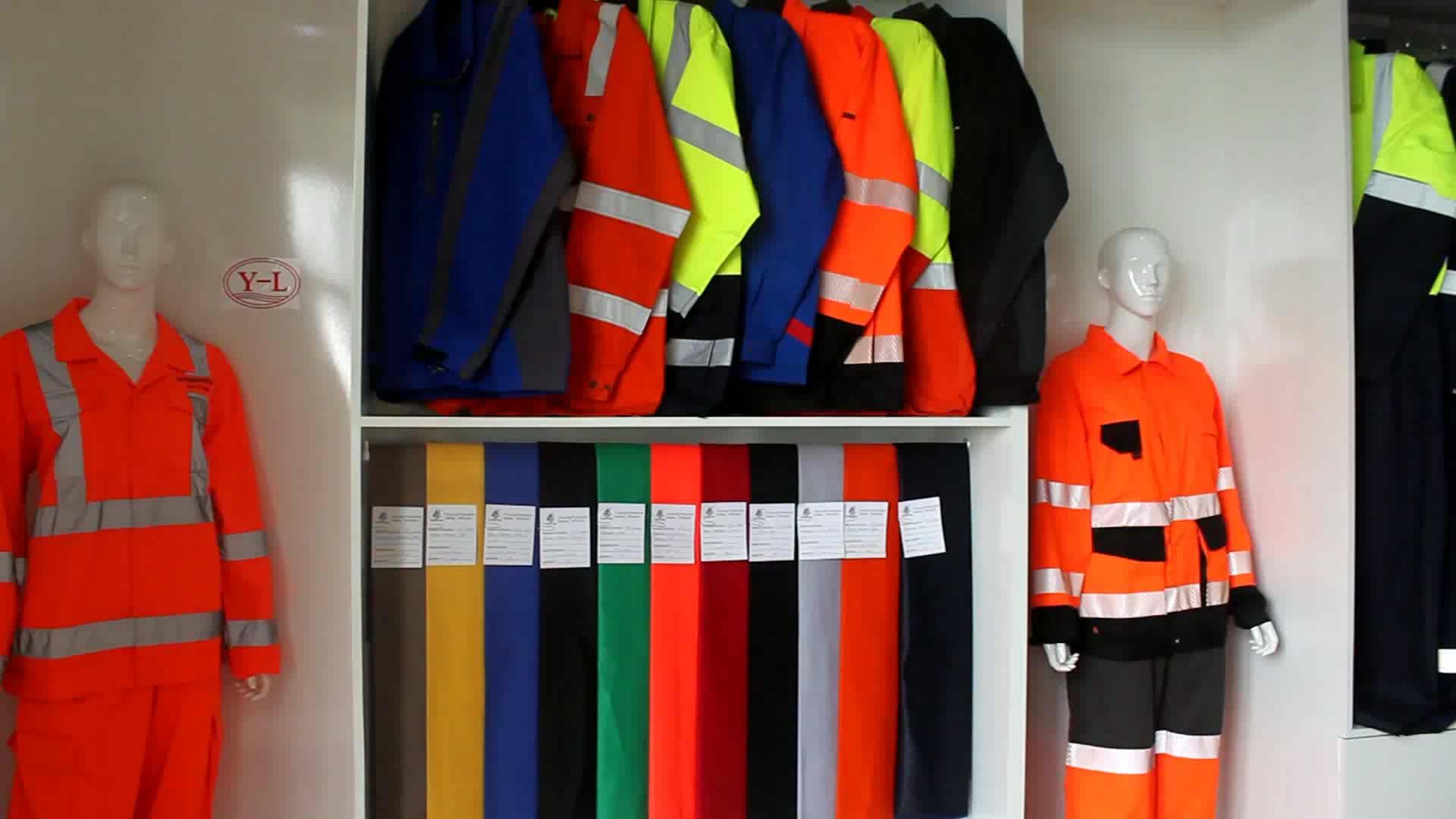 EN20471 Road Protective Safety Reflective Hi Vis Jacket for Worker