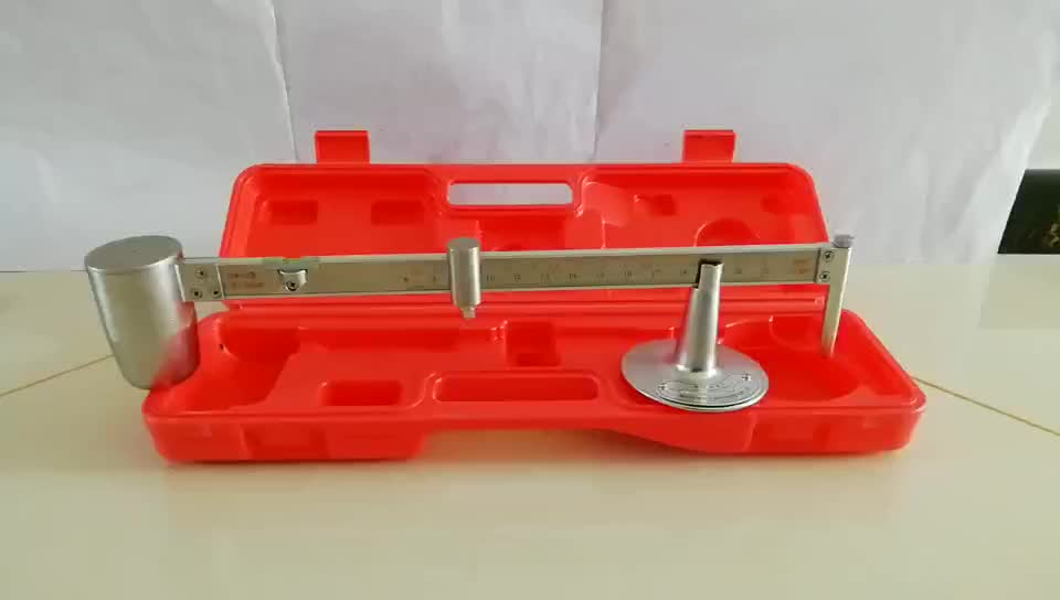 Stainless Steel Fluid Density Mud Balance Scale