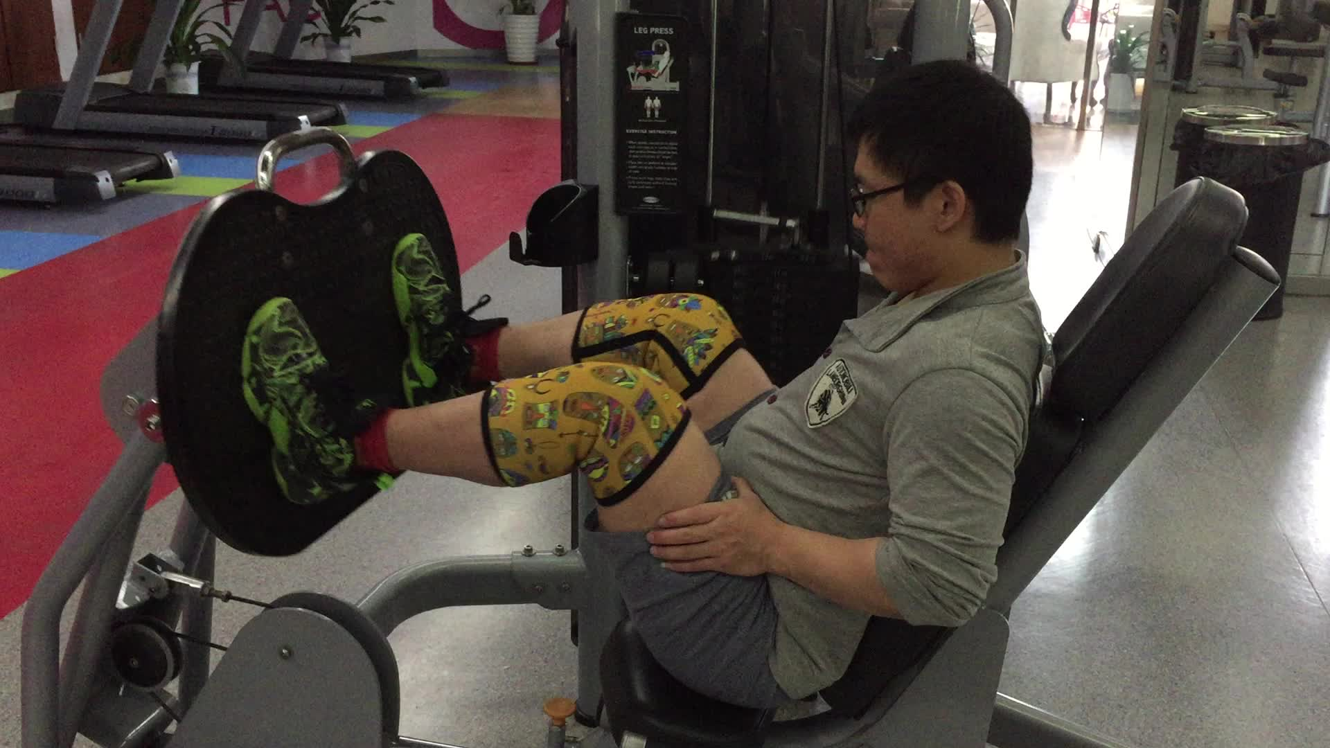 Fashion design breathable 5mm Neoprene custom Knee protector support brace for fitness