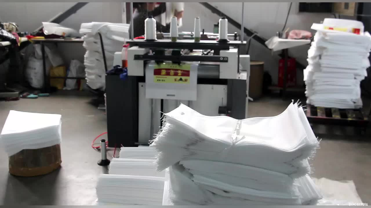 Recyclable  Rice Food Fruit Printing  Packaging Flour  Seed PP Woven Bag
