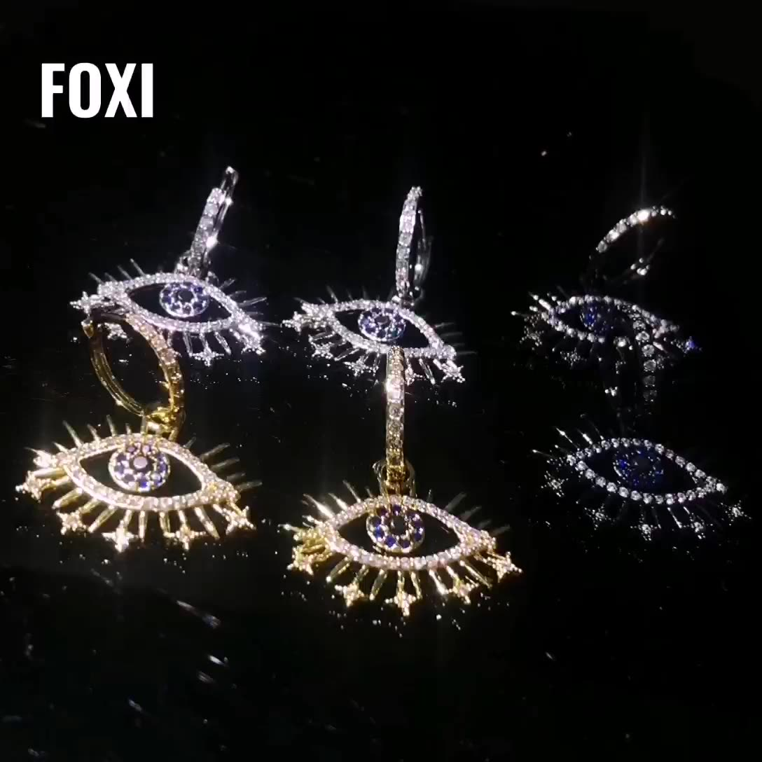 Evil eyes with stars women fashion best sale jewelry sets