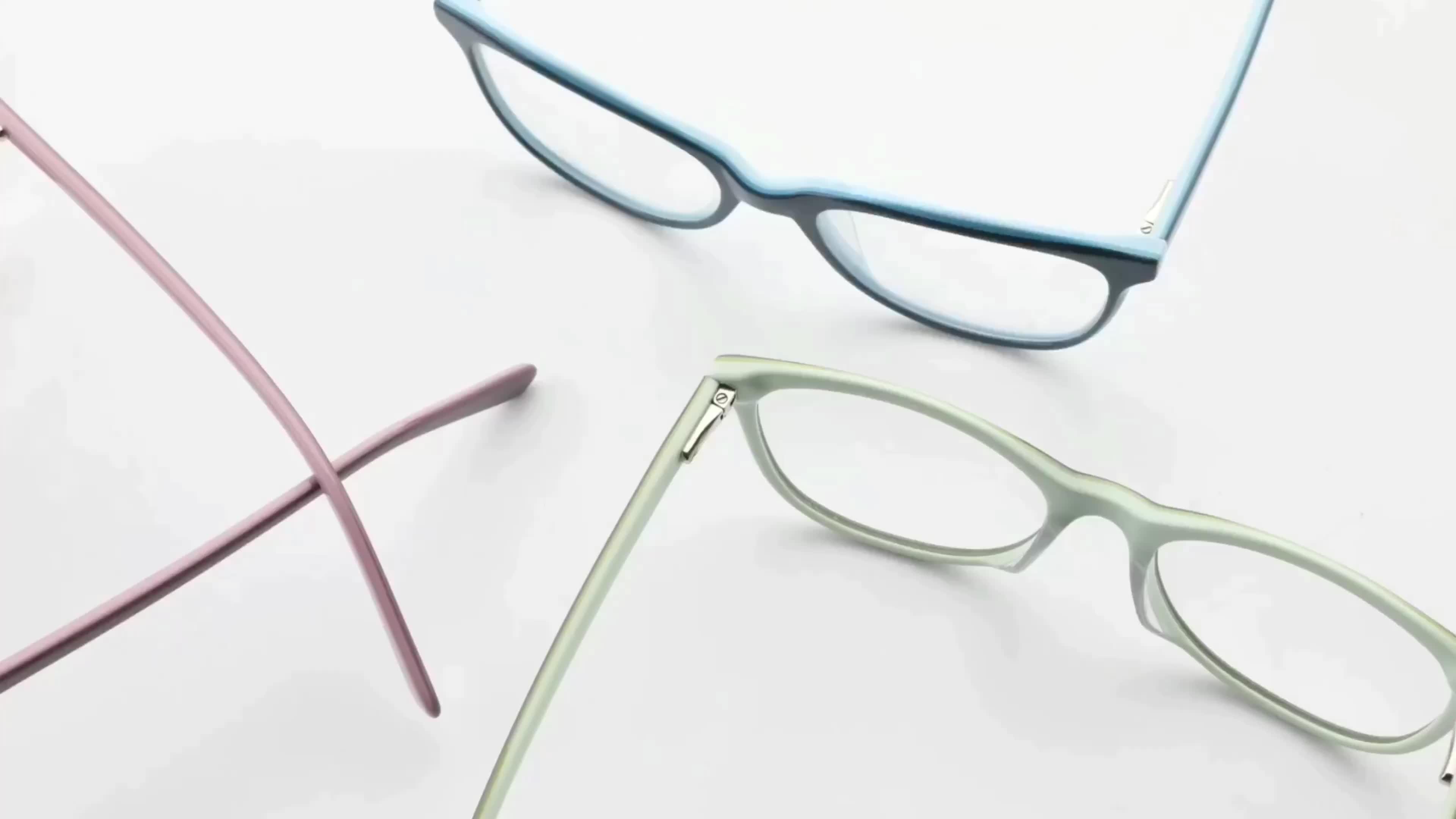 LG028 high quality acetate eye wear eyeglass women glasses