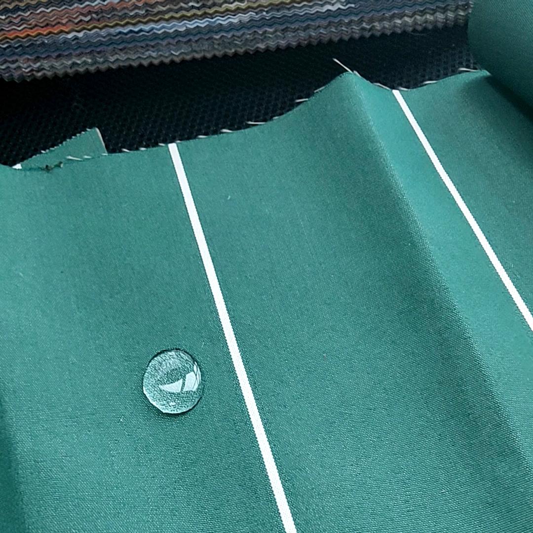 Высокое качество окрашенного раствором отличные окраски акриловые тентовая ткань