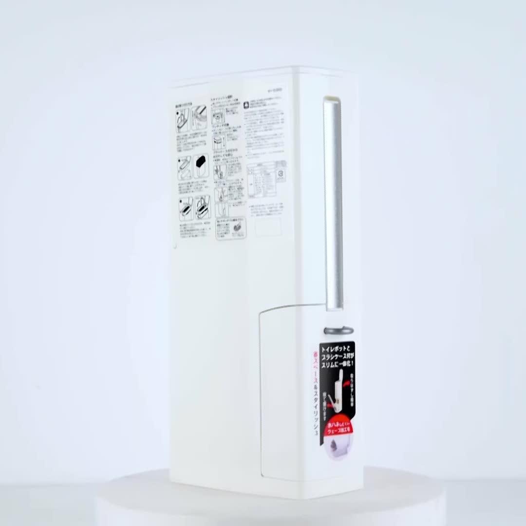 Modern design multifunctionele huishoudelijke mini vierkante prullenbak plastic voor badkamer prullenbak