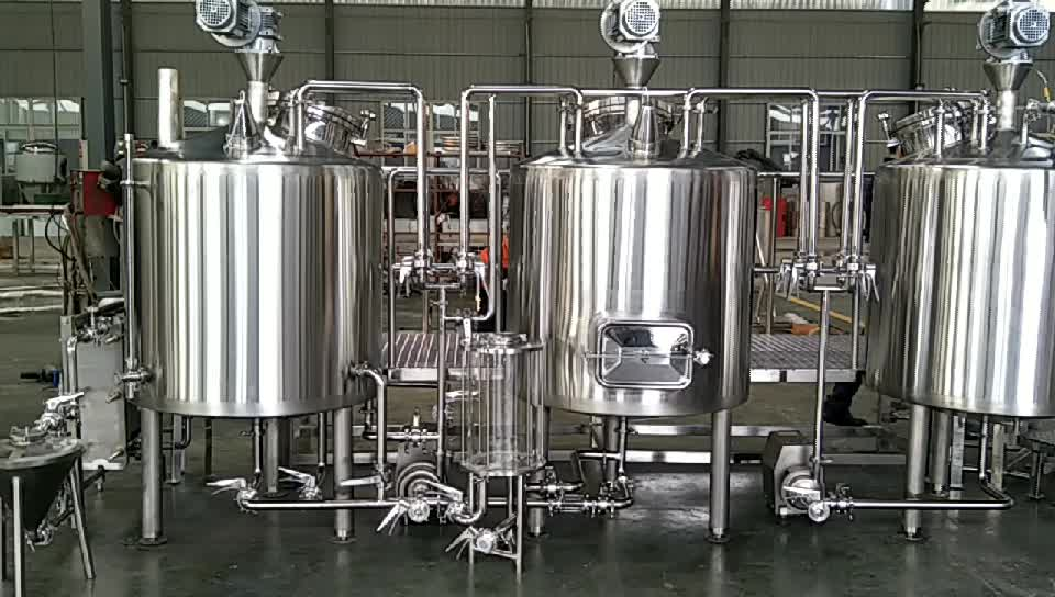 300L 500L micro beer brewing equipment for sale