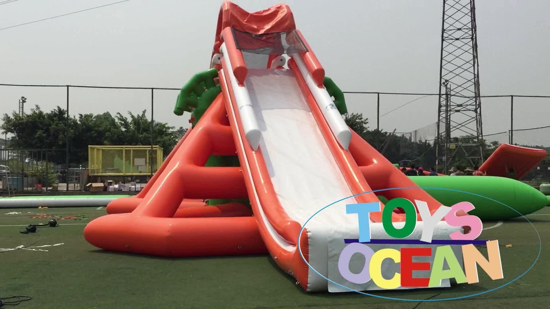 Water Pretpark Opblaasbare Glijbaan voor Kidsand Volwassenen voor Verkoop