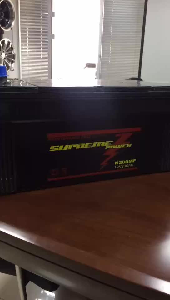 JIS-Standard-Autobatterie 12v 45ah, 60ah und steckte Butter 120ah, 190ah